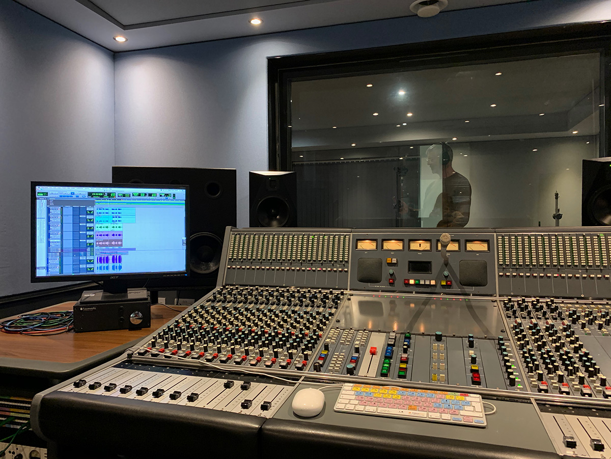 Recoding in the Neve 51 Studio