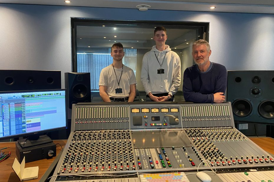 In the Neve 51 with Bax and Joe